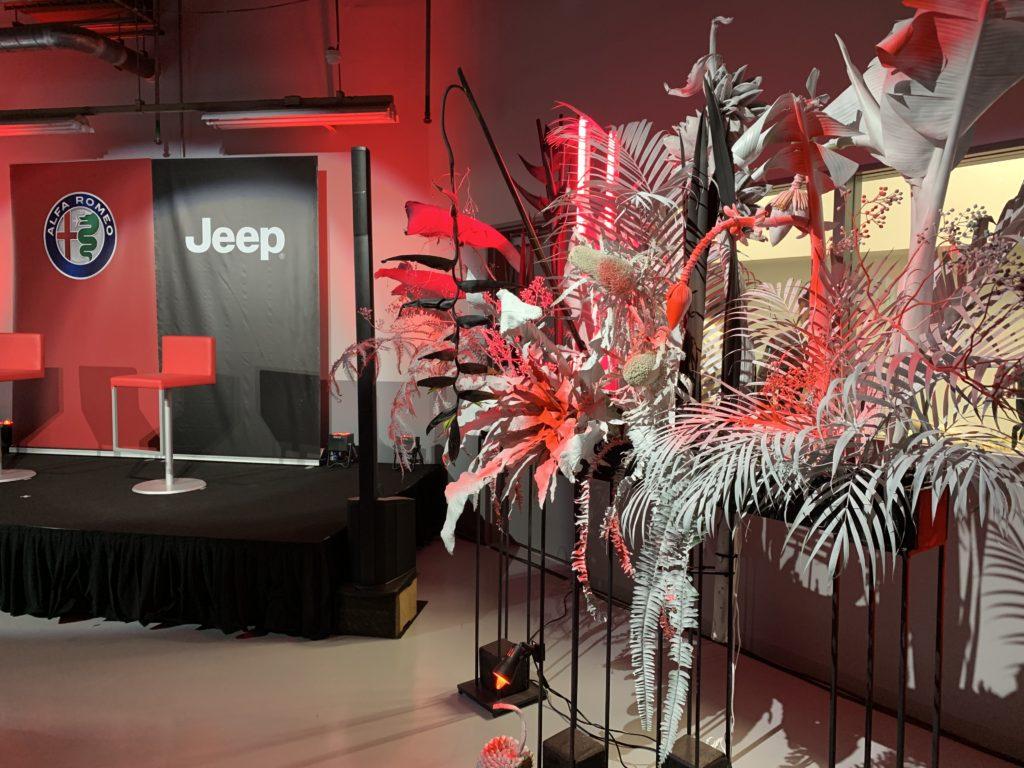AYAKO HAMAOKA EVENT Alfaromeo & Jeep launch event