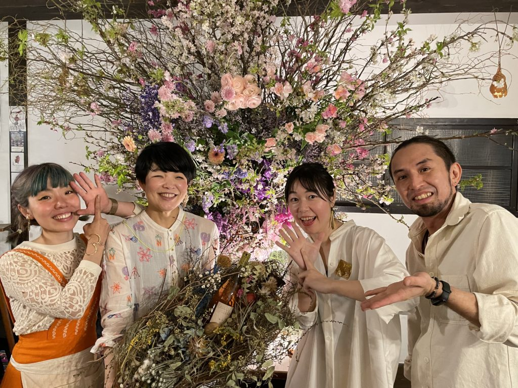 花と音楽at カフェギャラリーコンバーション ありがとうございました!