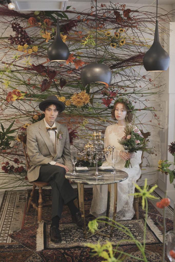 Grimoire Vintage WEDDING at HOTEL EMANON